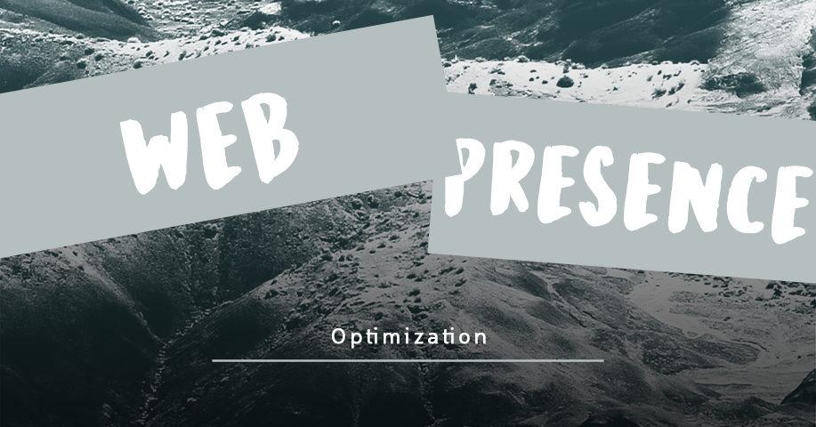 Web presence optimization Online presence Brand